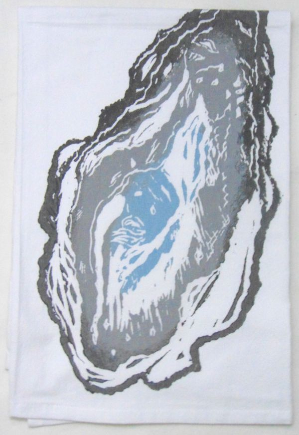 large oyster towel