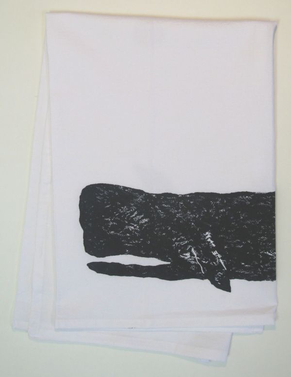 large whale towel