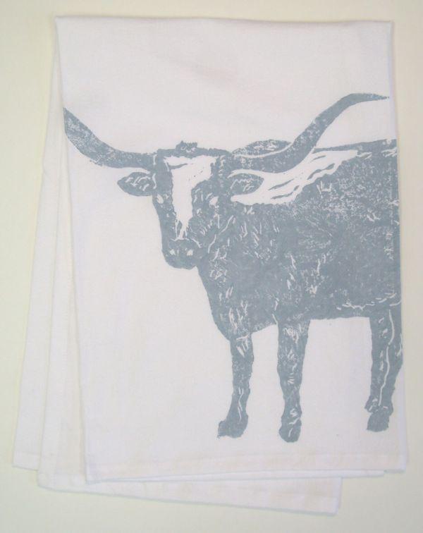 longhorn towel