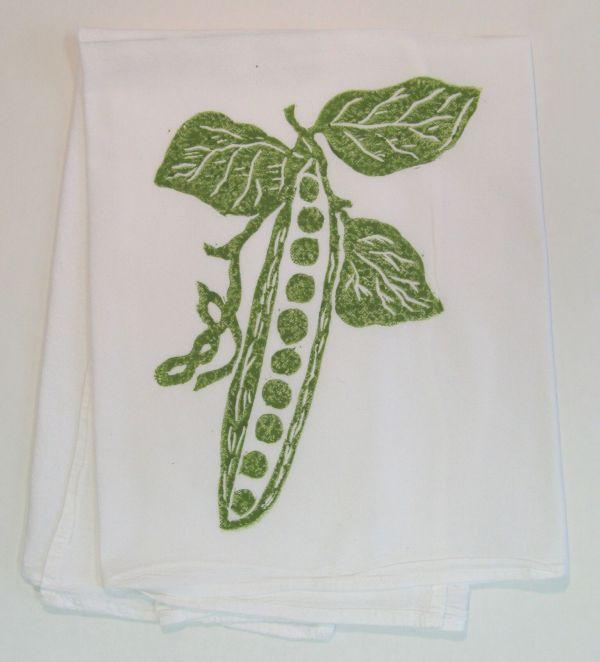 pea pod towel