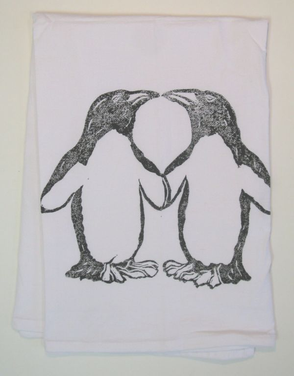 penguins towel 2