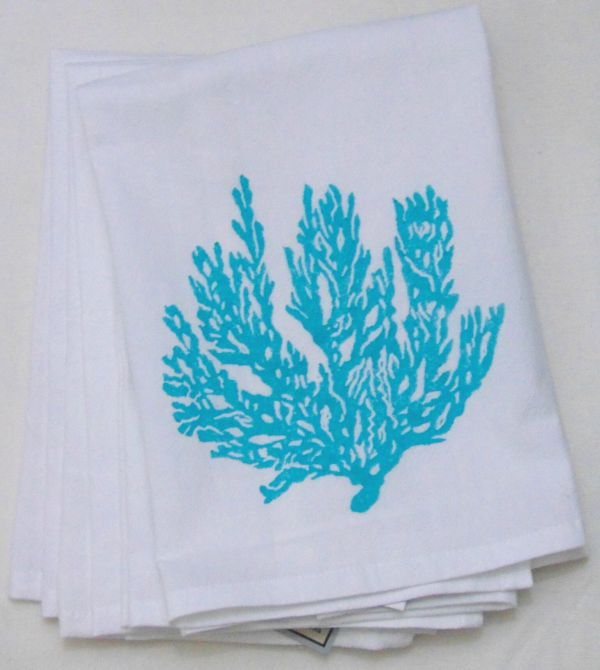 sea fan napkin