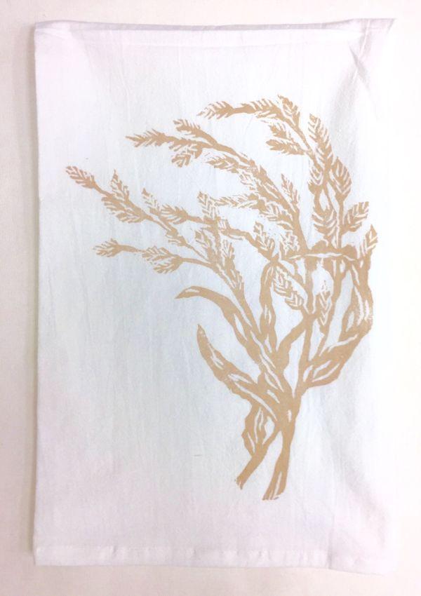 sea oat towel