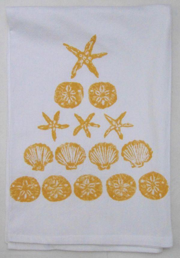 shell tree towel 2