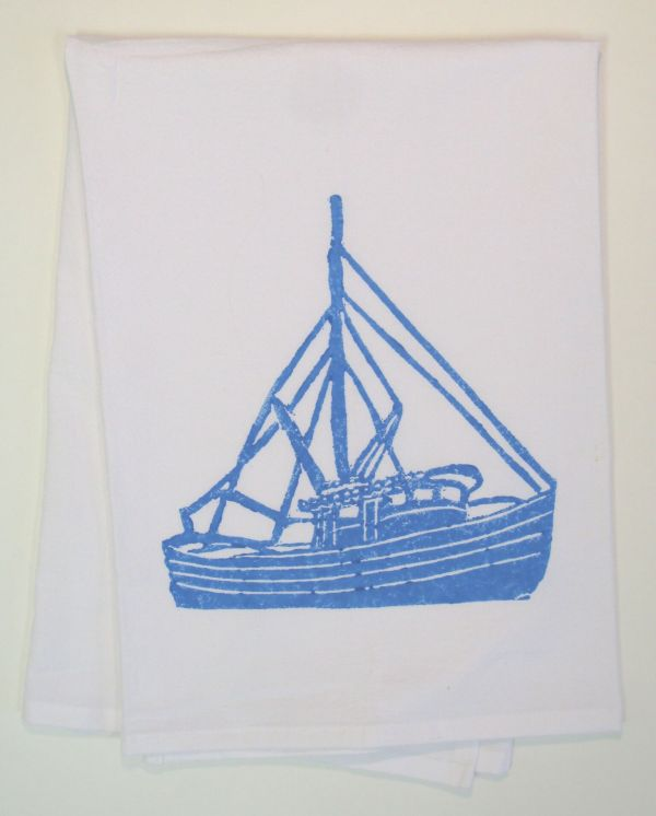 shrimp boat towel