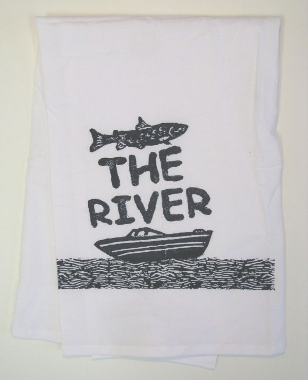 the river boat towel