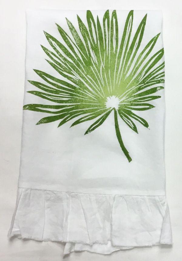 Palm frond ruffle