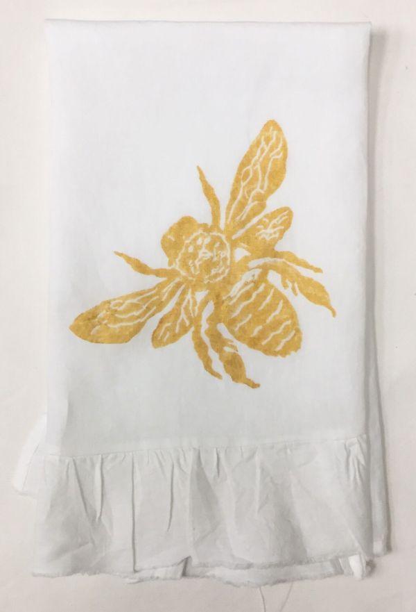 bee ruffled