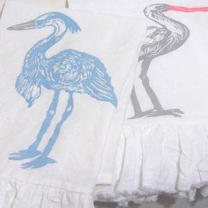 Ruffled Towels