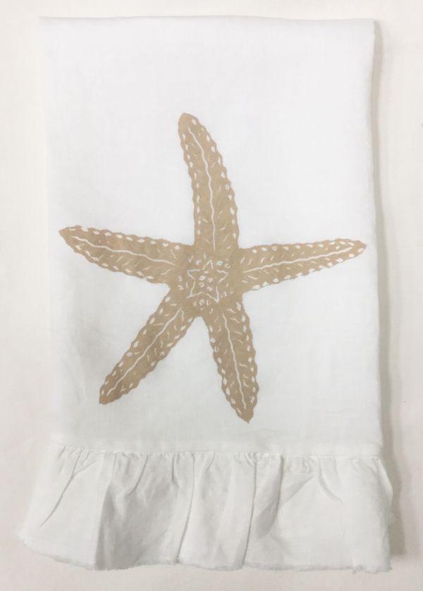 starfish ruffled