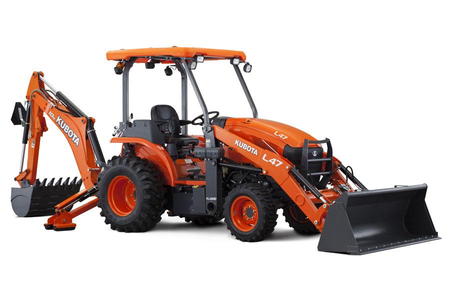 Kubota L47 - Tractor Loader Backhoe - Statesboro, GA