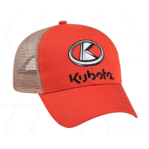 Burnt Orange Kubota Cap
