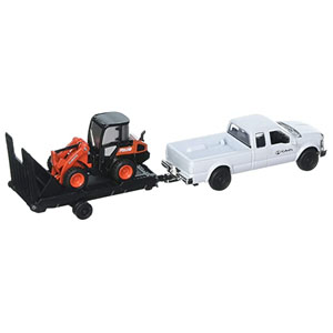 R630 Wheel Loader With Chevy Truck And Trailer