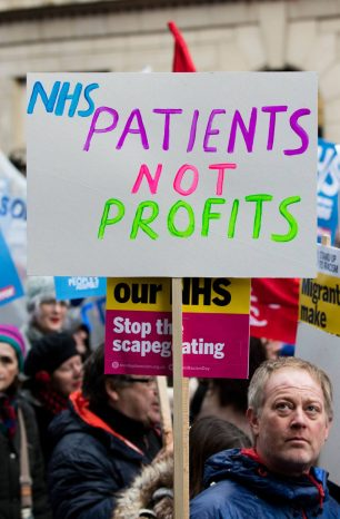 More trouble with NHS contracts and outsourcing