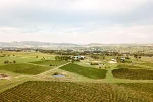 Aerial of Tinja