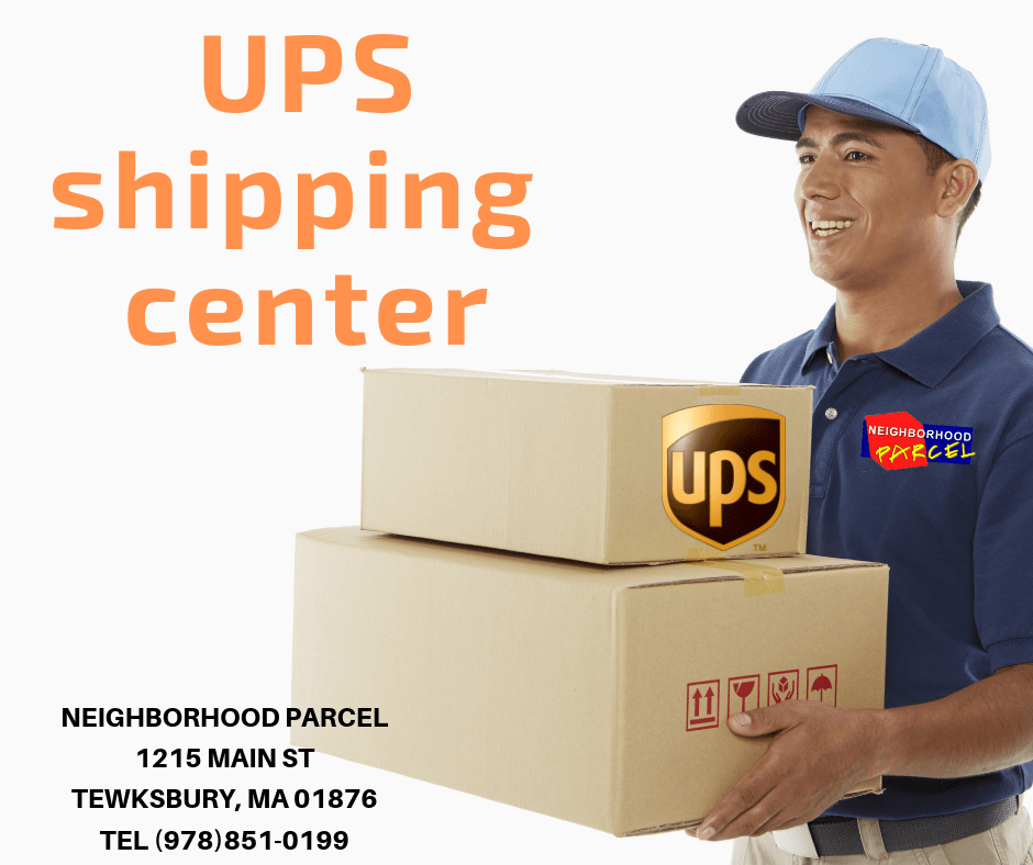 UPS shipping Location Lowell MA
