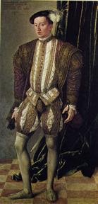 "Jakob Seisenegger ""Archduke Ferdinand of Tyrol"" by Jakob Seisenegger, 1548. Courtesy of Kunsthistorisches Museum, Vienna"