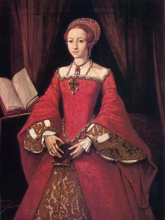 The Lady Elizabeth in about 1546, by an unknown artist