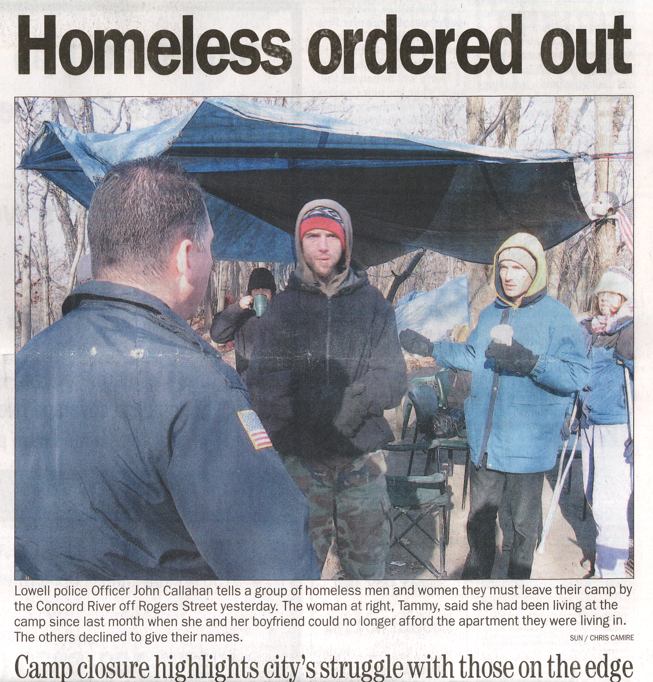 Homeless explored through film -