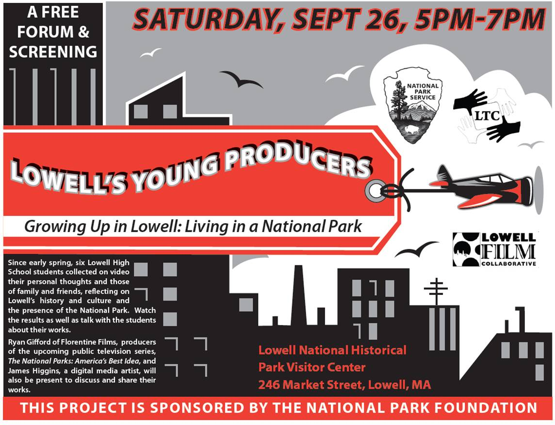 Lowell's Young Producers Film Forum