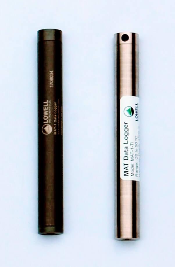 MAT-1 Data Loggers PVC and Titanium