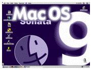 Mac OS 9 screen