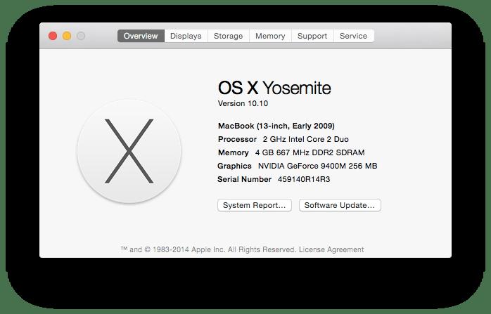 Mac OS X 10 10 Yosemite: First Impressions | Low End Mac