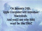 Apple 1984 ad