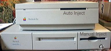 Mac IIci and Quadra 660av