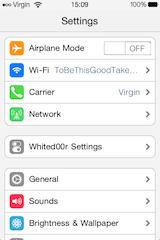 WD7-settings