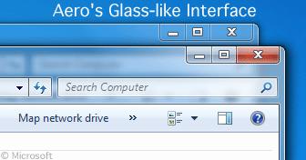 Windows Aero interface