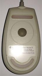 bottome of Apple ADB Mouse II