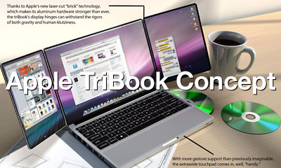 Apple TriBook concept by kromekat