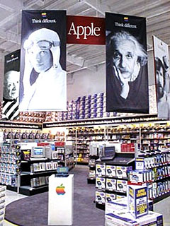 Apple Store within CompUSA