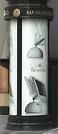 iMac G4 ad at BART station