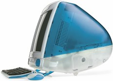 blueberry tray-loading iMac