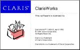ClarisWorks 1.0