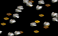 screen full of flying toasters