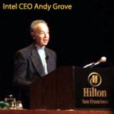 Intel CEO Andy Grove