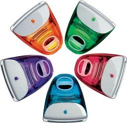 5 iMac colors