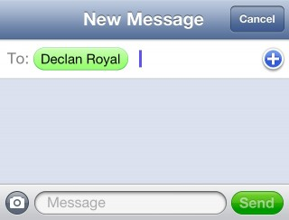 iMessage Green SMS Balloon