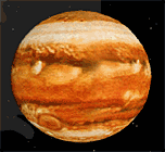 Jupiter as it appears in RedShift 3.0