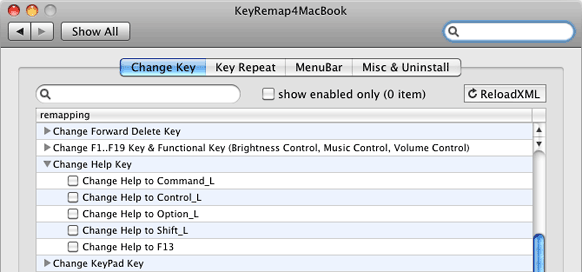 KeyRemap4MacBook 7.5 gives you more options for remapping the Help key.