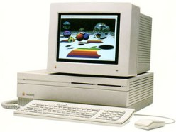 Mac II with color display