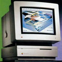 Macintosh IIsi with monitor