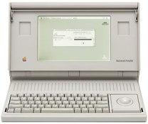 backlit Mac Portable
