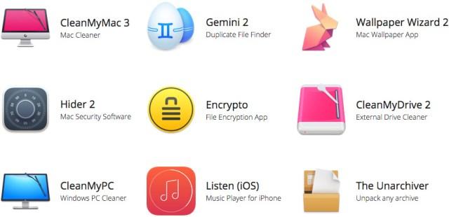MacPaw apps
