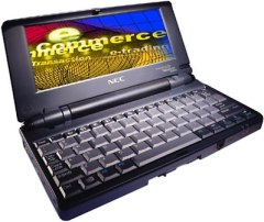 NEC MobilePro 700 handheld PC