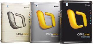 Microsoft Office Mac v. X