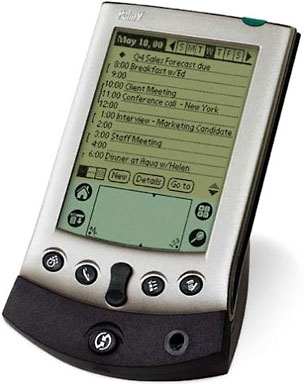 Palm V with cradle